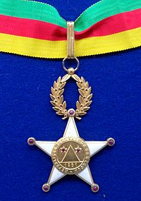 Order of Valour commander badge (Cameroon 1961-1972) - Tallinn Museum of Orders.jpg