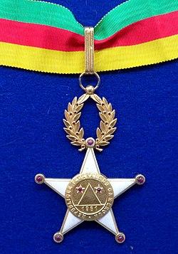 Order of Valour commander badge (Cameroon 1961-1972) - Tallinn Museum of Orders.jpg
