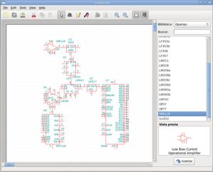 Oregano (software) - Image: Oregano 0.69.0 (linux)