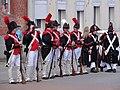 Origny-en-Thiérache (Aisne) défilé soldats Napoleoniens - Les Vétérans bourgeois 15-06-2014 (12).JPG