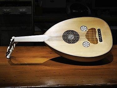 Oud Greek Instrument