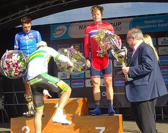 Oudenaarde - Ronde van Vlaanderen Beloften, 11 april 2015 (E11).JPG