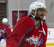 Ovechkin at Capitals practice during the 2015–16 season. During that  season cde60a27a0d