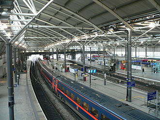 Great North Eastern Railway - InterCity 225 set at Leeds