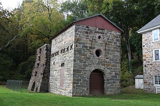 Oxford Furnace, New Jersey - Oxford Furnace in 2015