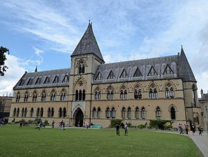 Oxford University Museum of Natural History - Front view of Oxford University Museum