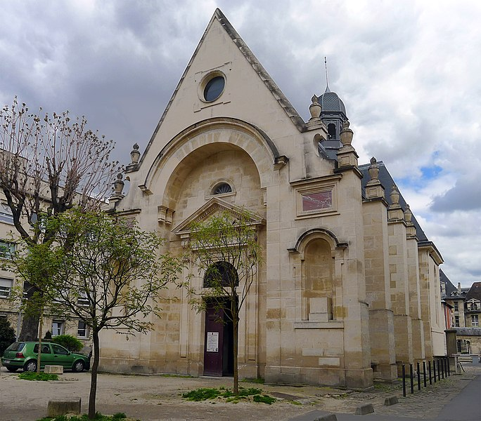 Fichier:P1170820 Paris X hôpital Saint-Louis chapelle rwk.jpg