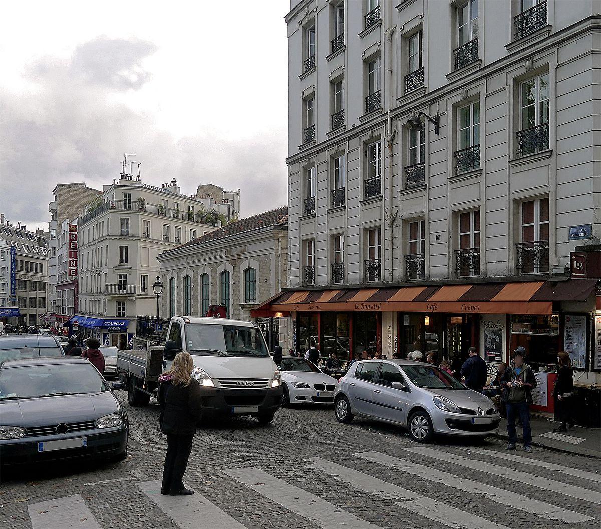Place saint pierre paris wikip dia - Place saint pierre paris ...