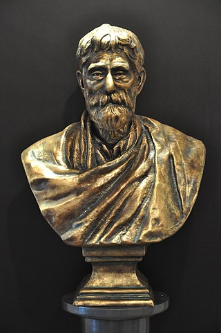 PC Ray Bust - Acharya Prafulla Chandra Ray Life And Science Of A Legend Exhibition - BITM - Kolkata 2011-01-17 0194.JPG