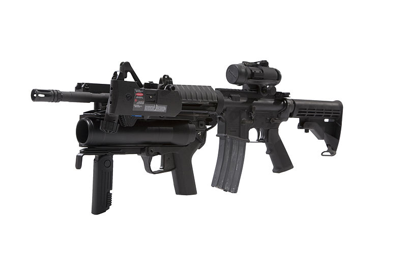 File:PEO M320 on M4 Carbine.jpg