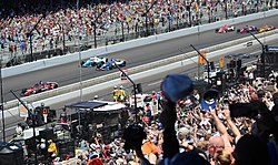 Pace lap indianapolis 500 (51222500140).jpg