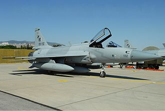 CAC/PAC JF-17 Thunder - A PAF JF-17 in Turkey in 2011