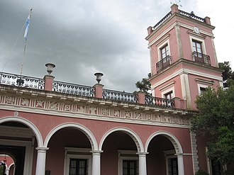 San José palace - A view of one of the towers of the Palace.