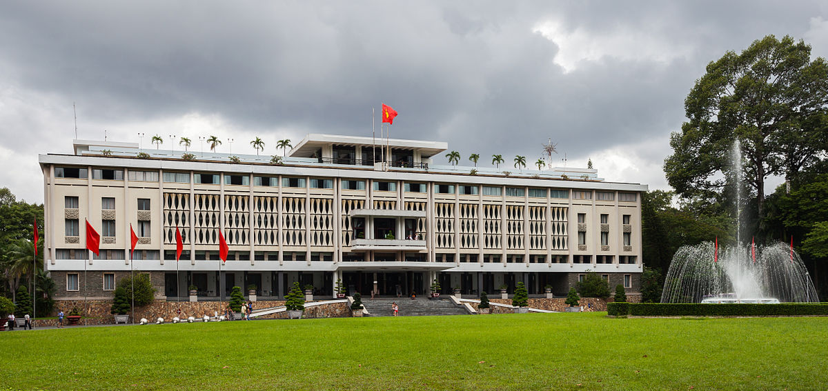 Image result for Reunification Palace