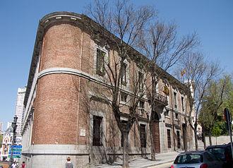"""Centro de Estudios Políticos y Constitucionales - Palacio del Marqués de Grimaldi (also known as the """"Palacio de Godoy""""); headquarters of the CEPC"""