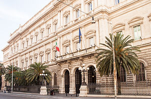 Bank of Italy - Headquarters in Rome