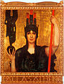 Pallas Athene by Franz von Stuck, 1898.jpg