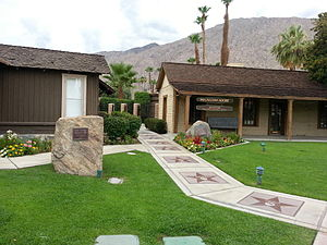 Palm Springs Walk of Stars - Stars on the Walk of Stars at the Village Green Heritage Center