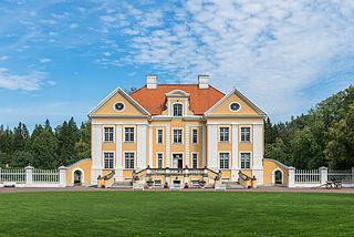 Palmse Village in Lääne-Viru County, Estonia