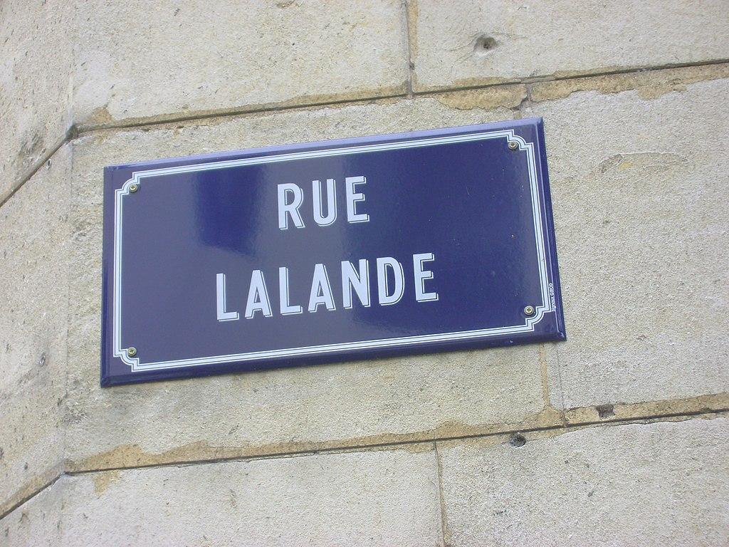 file panneau de la rue lalande bourg en bresse jpg wikimedia commons. Black Bedroom Furniture Sets. Home Design Ideas