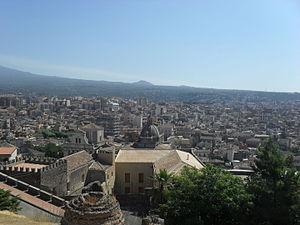 Paternò - Image: Panorama Paternò 2