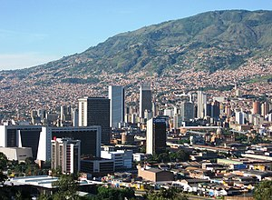 Pablo Escobar - The city of Medellín, where Escobar grew up and began his criminal career.