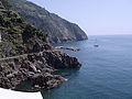 Panoramica strada iubitilor intre Manarola si Corniglia -5 terre-Liguria.jpg