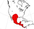 Paratoceras range.png