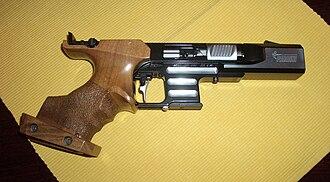 Pardini - A .22 LR Pardini SP target pistol