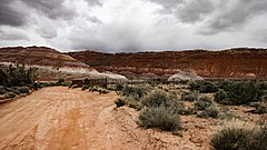 Paria, Utah, landscape, ghost town and filming location.