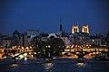 Paris - Ile de la Cite - le soir.JPG