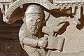 Paris - Musée de Cluny - Chapiteau engagé - Visitation, Nativité avec le prophète Isaïe - 007.jpg