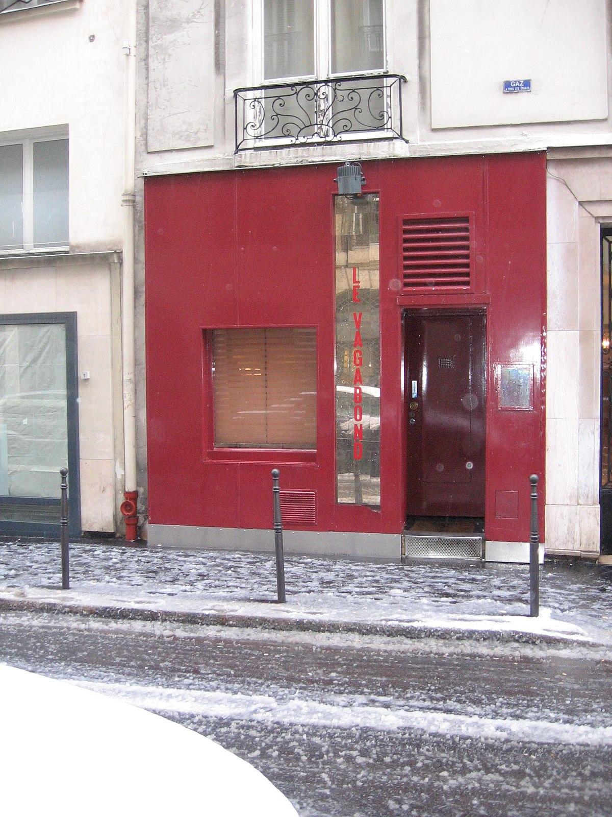 sch bar gay rue de beauce paris