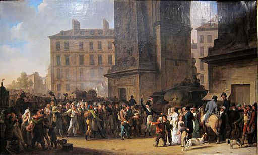 Paris carnavalet boilly conscrits