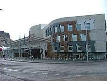 Il Parlamento Scozzese a Edimburgo