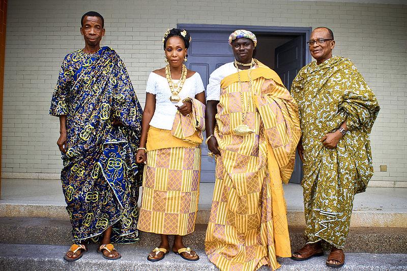 modeles de robes pagne