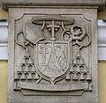 Passau Seminar St Stephan Portal Wappen.jpg