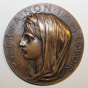 medaille gravée