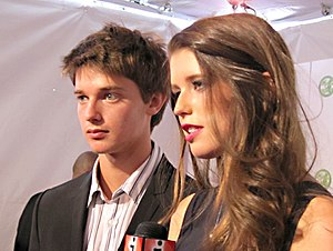 Patrick Schwarzenegger - Schwarzenegger and his sister, Katherine, October 27, 2010