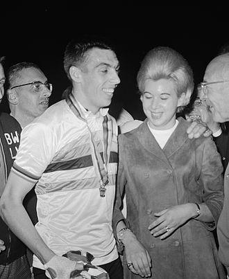 Patrick Sercu - Sercu with wife in 1967