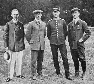 Eric Carlberg - Eric Carlberg (right) at the 1912 Olympics