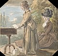 Paul Sandby - Lady Francis Scott and Lady Elliot - Google Art Project.jpg