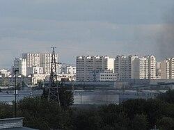 Skyline of Pechatniki縣