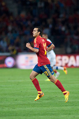 Pedro Rodriguez (2) - Spain vs. Chile, 10th September 2013.jpg