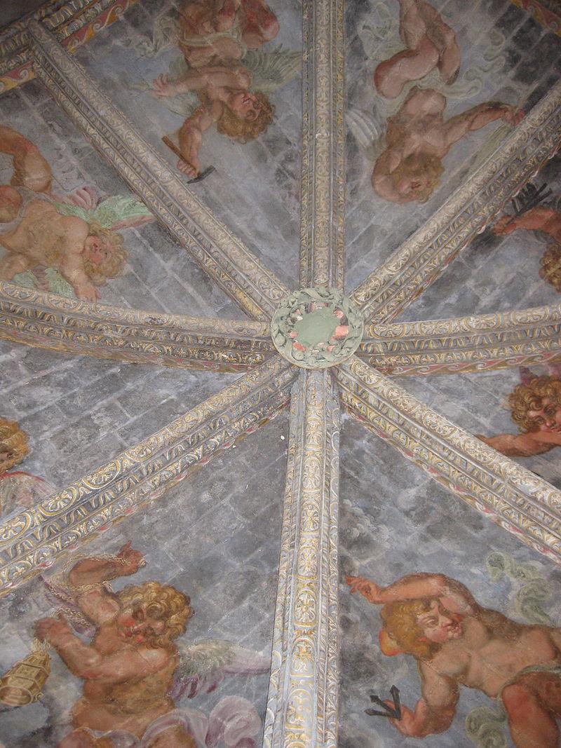 Peintures murales de la chapelle.JPG
