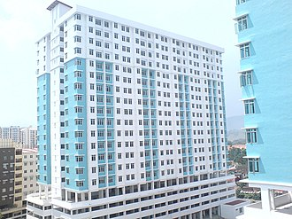 Jelutong, Penang - Apartments such as these now occupy much of Jelutong's landscape.
