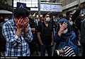 People gathering outside the Jam Hospital following the death of Mohammad-Reza Shajarian 2020-10-08 27.jpg
