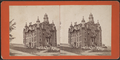 People in front of a church, Schuylerville, N.Y, from Robert N. Dennis collection of stereoscopic views.png