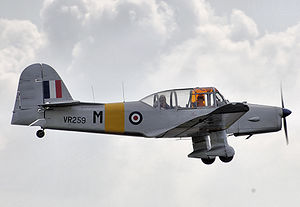 Percival Prentice - A preserved Percival Prentice giving a pleasure flight in 2007