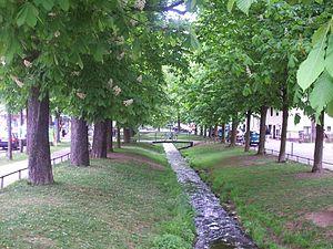 Ramersdorf-Perlach - Image: Perlach Pfanzeltplatz